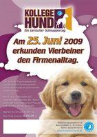 """Bundesweiter Aktionstag """"Kollege Hund"""": Tierfreundliche Unternehmen können sich noch anmelden"""