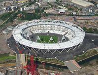 Das Olympiastadion in London, Schauplatz für Leichtathletik, Eröffnungs- und Schlussfeier (80.000 Plätze)