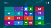 Windows 8: Der Startbildschirm der Release Preview. Bild: Microsoft