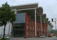 Teile der Messe Hamburg