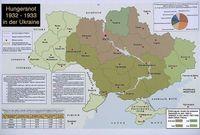 Karte der Opfer in der Ukraine