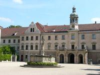 Das Schloss St. Emmeram oder Schloss Thurn und Taxis