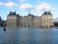 Frankreich: Der Senat tagt im Palais du Luxembourg im 6. Arrondissement von Paris.