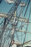 Takelage der Gorch Fock (1968)