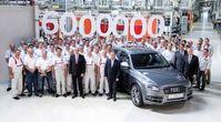 """Sechsmillionster Audi mit quattro-Antrieb / Produktionsjubiläum bei den Vier Ringen: Bild: """"obs/Audi AG"""""""