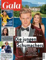 GALA Cover 13/21 (EVT: 25. März 2021) Bild: GALA, Gruner + Jahr Fotograf: Gruner+Jahr, Gala