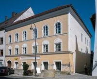 Geburtshaus Adolf Hitlers in Braunau am Inn