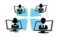 Netzwerk: Facebook ist heikle Geschäftsbörse. Bild: pixelio.de, G. Altmann