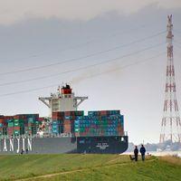 Containerschiff Bild: WWF