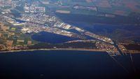 Hafen Ravenna Luftaufnahme
