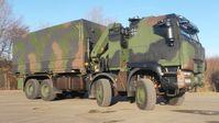 """Bis zu 1.048 geschützte Transportfahrzeuge der Zuladungsklasse 15t kann die Bundeswehr in den nächsten sieben Jahren beschaffen.  Bild: """"obs/Presse- und Informationszentrum AIN/(Foto: Bundeswehr)"""""""