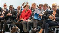 "Bild: SS Video: "" 6 Monate vor Corona-Ausbruch: Merkel und Co. besprechen Pandemie auf Konferenz in Berlin"" (https://www.bitchute.com/video/xLuWjSJeSCSY/) / Eigenes Werk"