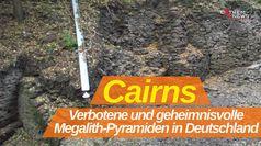 """K. Walter Haug über """"Cairns - Verbotene und geheimnisvolle Megalith-Pyramiden in Deutschland"""""""