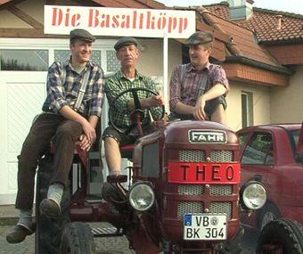 """Die Basaltköpp und ihr """"Theo"""". Bild: ExtremNews"""