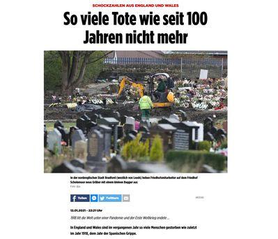 Bild: Screenshot Bildzeitung
