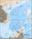 Südchinesisches Meer mit Inseln