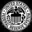 Das Siegel der privaten Zentralbank Federal Reserve System, FED