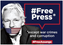 40 Rechtsgruppen  fordern die Freilassung von Julian Assange  / Bild:        https://www.ifj.org/media-centre/news/detail/category/press-releases/article/over-40-rights-groups-call-on-uk-to-free-julian-assange.html