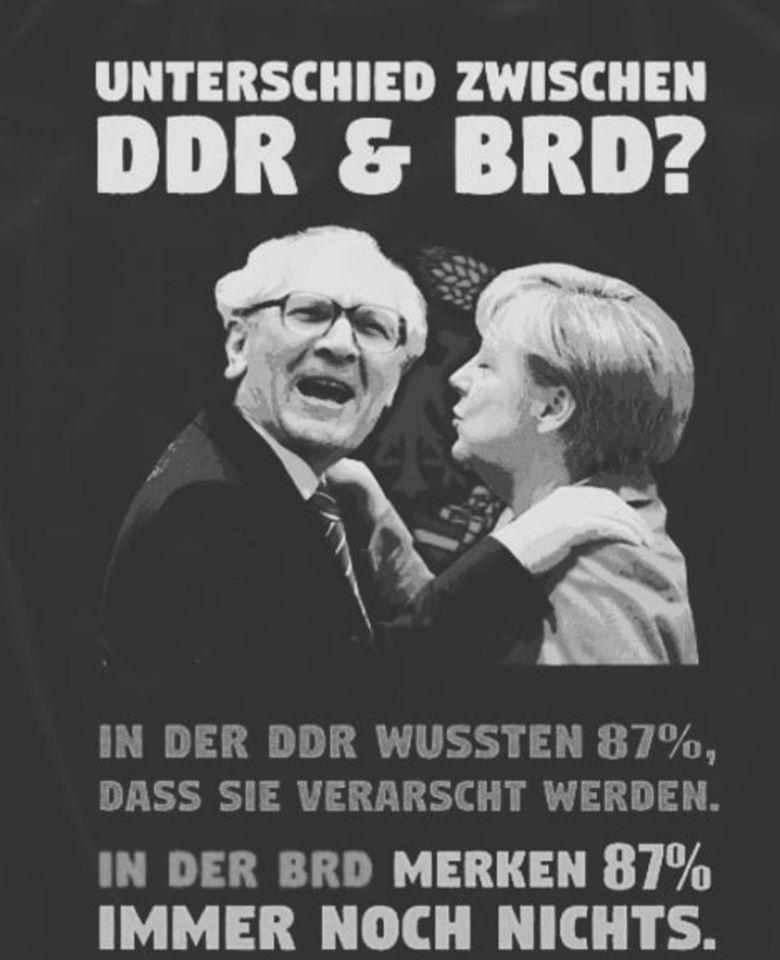 War die DDR rechtstaatlicher als die BRD in 2020? (Symbolbild)
