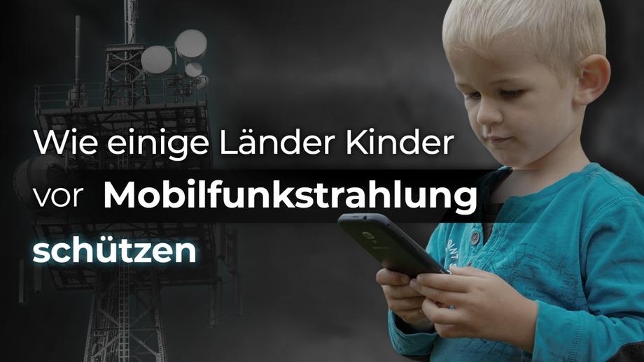"""Bild: SS Video: """" Wie einige Länder Kinder vor Mobilfunkstrahlung schützen"""" (www.kla.tv/18921) / Eigenes Werk"""