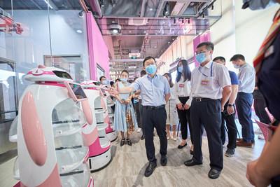 Country Garden baut weltweit ersten Roboter-Restaurantkomplex in Guangdong, China
