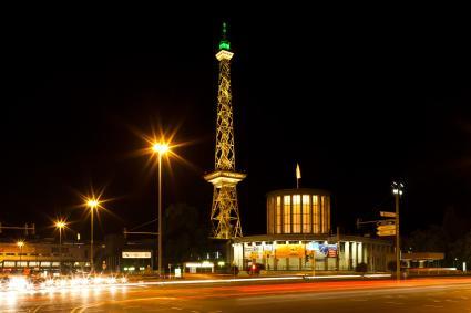 "Berliner Funkturm. Bild: ""obs/Messe Berlin GmbH"""