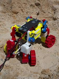 """""""Mini Rover"""": Gefährt ist sehr flexibel in der Bewegung."""