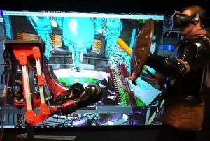 Roboter-Kampf: Maschine kann zurückschlagen.