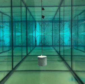 Innovativer batterieloser Sensor im Schwimmbadtest des MIT.