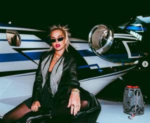 Sängerin Rita Ora auf Instagram bekam einen Brief.