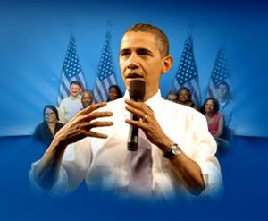 Obama warnt vor Degradierung von Information. Bild: barackobama.com