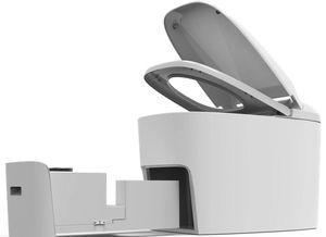 Toilette der Zukunft: Sensoren analysieren alles.