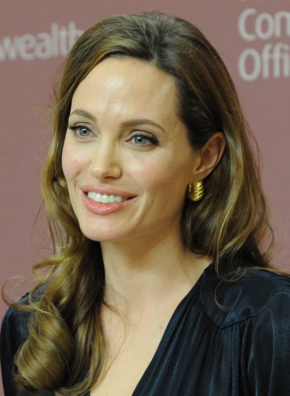 Angelina Jolie bei einer Veranstaltung gegen sexuelle Gewalt am 29. Mai 2012