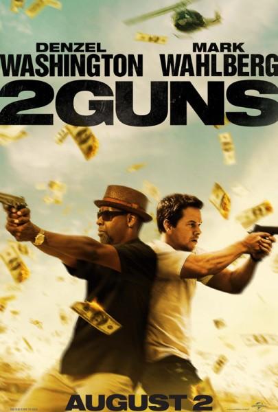 """Kinoplakat von """"2 Guns"""""""