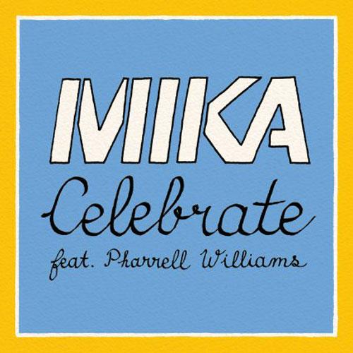 "Single ""Celebrate"" feat. Pharrell Williams von MIKA.  Bild: UNIVERSAL MUSIC GMBH"