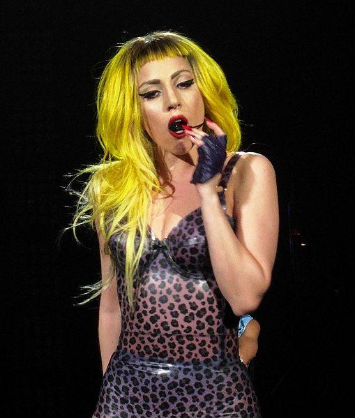 Lady Gaga bei der Monster Ball-Tour 2011 Bild: Gn!pGnop / de.wikipedia.org