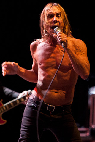 Iggy Pop beim Parkenfestivalen in Bodø, Norwegen, 2011