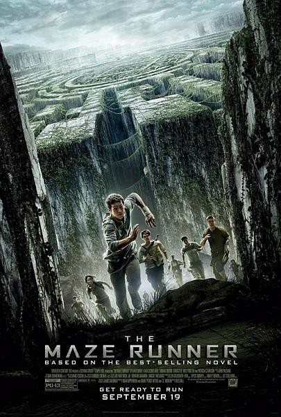 """Kinoposter von """"Maze Runner - Die Auserwählten im Labyrinth"""""""