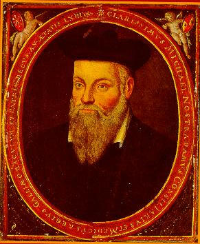 Michel de Nostredame, Porträt von seinem Sohn César de Nostredame