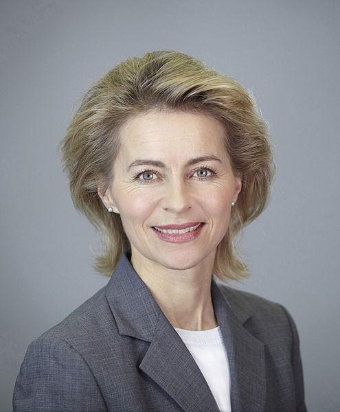 Ursula Gertrud von der Leyen Bild: Laurence Chaperon / wikipedia.org