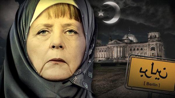 """Angela Merkel in der Kritik der Deutschen wegen Ihrer Aussage: """"Der Islam gehört zu Deutschland"""" (Symbolbild)"""