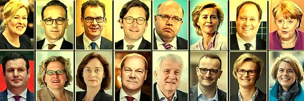 Bundesregierung (Bundeskabinett) 2017