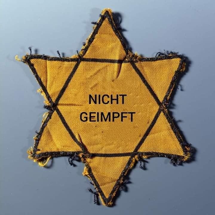"""Ist der geplante """"Immunitätsausweis"""" die neue Variante des früher gebräuchlichen """"Judensterns""""? (Symbolbild)"""