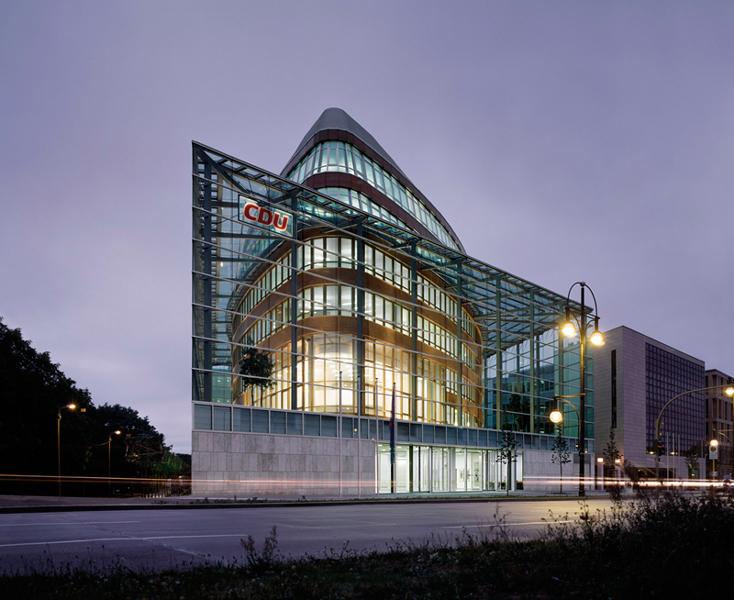 Das Konrad-Adenauer-Haus in Berlin