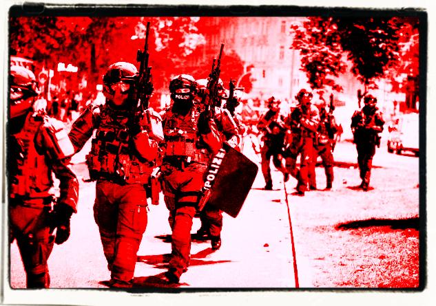 Staatliche Gewalt ist gute Gewalt? (Symbolbild)