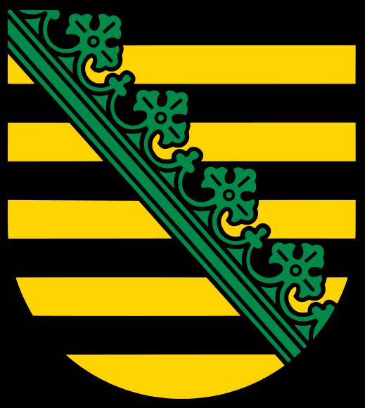 Wappen Freistaat Sachsen