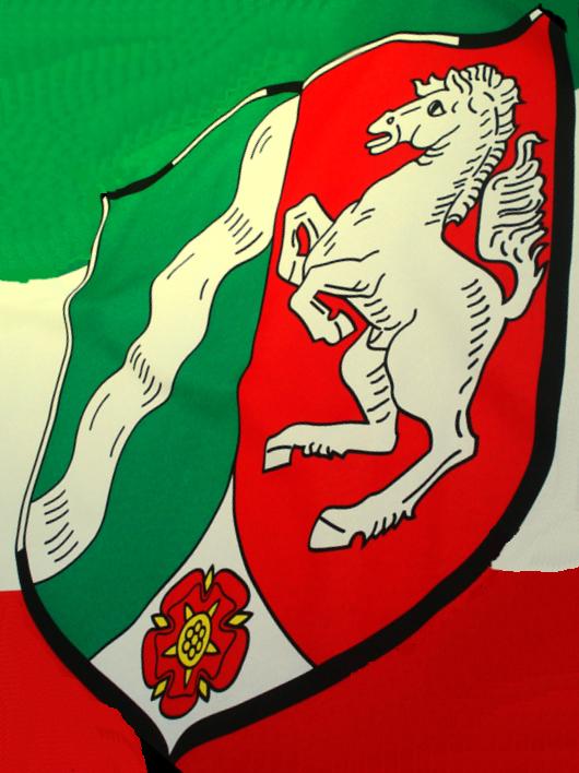 Nordrhein-Westfalen Flagge