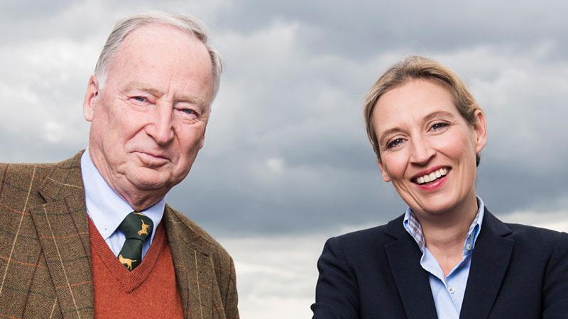 Alice Weidel und Alexander Gauland (2018)