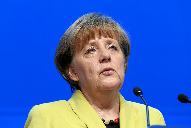 Angela Merkel Bild: World Economic Forum, on Flickr CC BY-SA 2.0