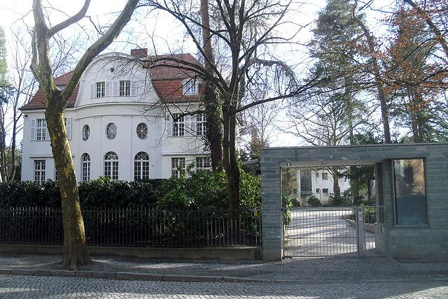 Villa Wurmbach, Berlin-Dahlem Bild: Webverbesserer in der Wikipedia auf Deutsch